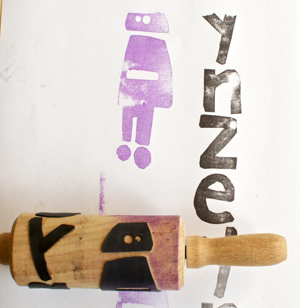 Beroemd Beeldende vorming en techniek: Maak een rolstempel #KN24